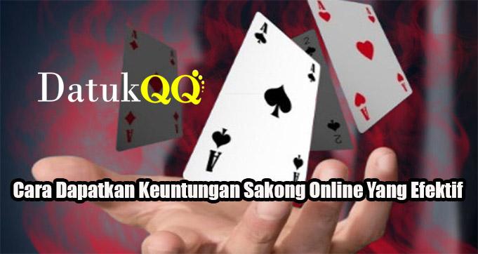 Cara Dapatkan Keuntungan Sakong Online Yang Efektif